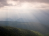 Stormy morn atop Spruce Knob.