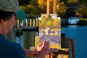 Dogwood Harbor artist