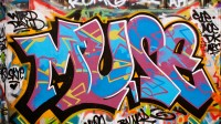 Headlining today's post ... artwork discovered in Baltimore's Graffiti Alley